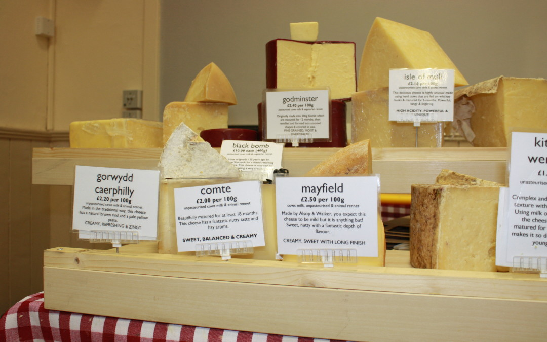 A New Cheese Stall